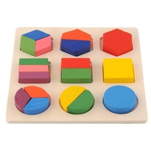 Colorful Wooden Development Building Blocks