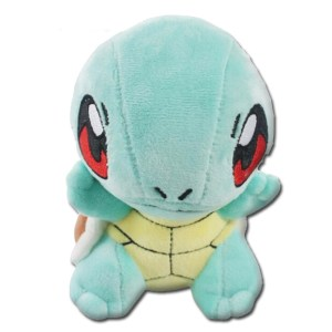 stuffed pokemon toy squirtle