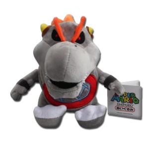 mario stuffed animal gray bowser