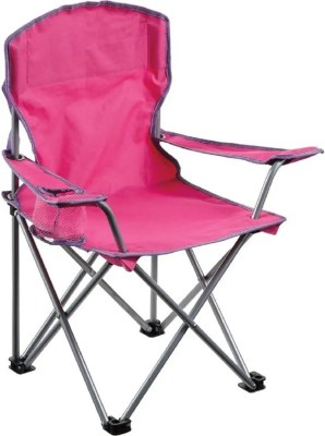 quest junior chair pink color, isolated on white background