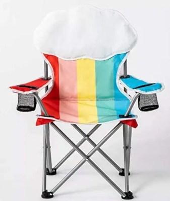 sun squad kids beach chair in multi colors