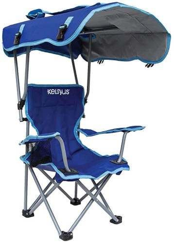 kelsyus kids outdoor canopy chair isolated on white background