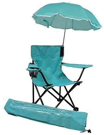 kids only beach baby umbrella chair with matching shoulder bag