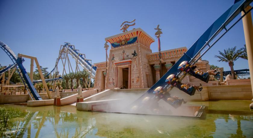 El Hotel del parque Asterix