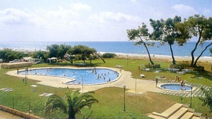 piscinas del camping