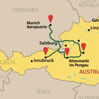 Ruta por los Alpes Austriacos con niños