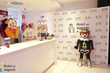 recepcion hotel del juguete