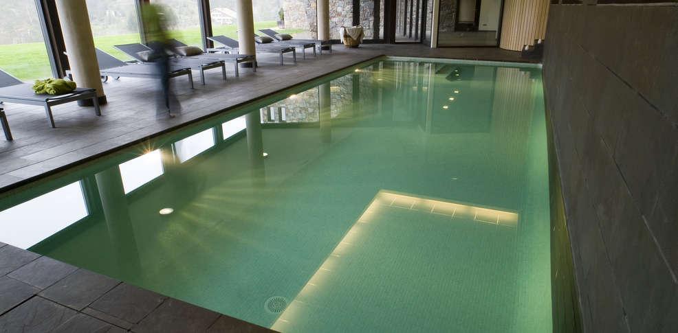 piscina del spa