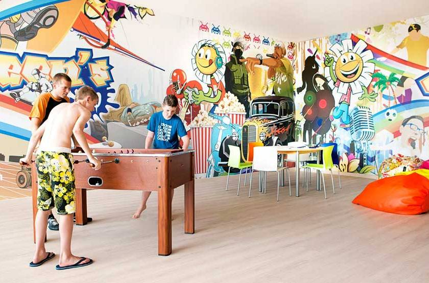 sala de adolescentes