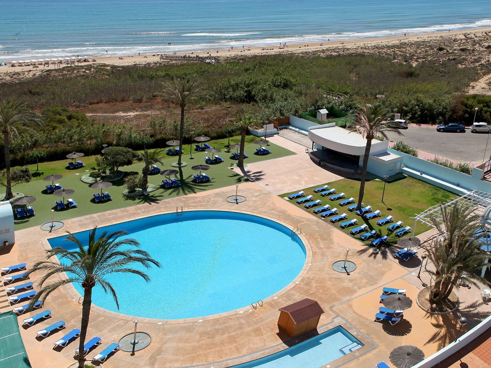 Piscinas del Hotel Playas de Guardamar