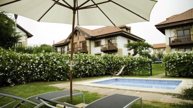 piscina de la casa