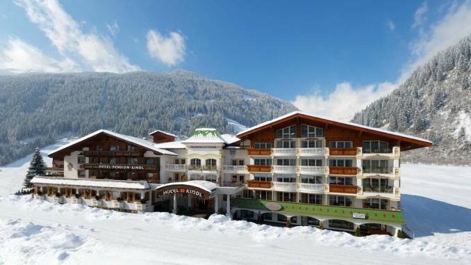 Hotel en los alpes para familias