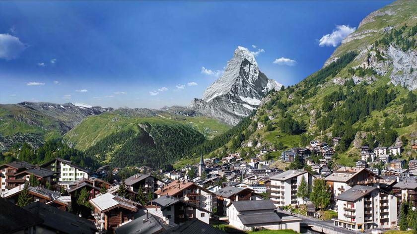 zermatt en Suiza