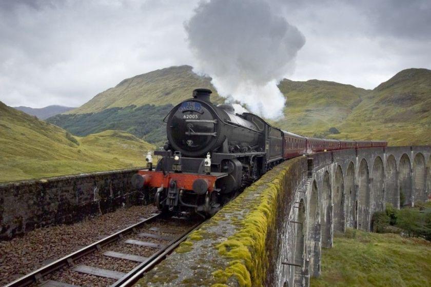 tren de vapor harry potter