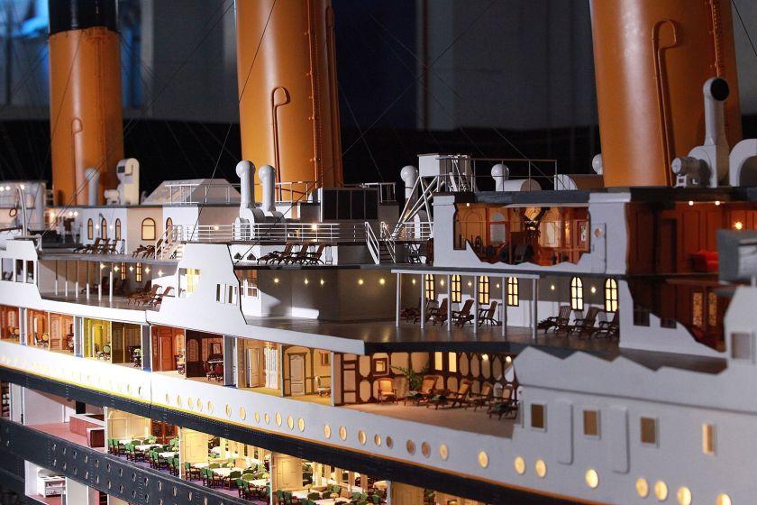 exposición Titanic