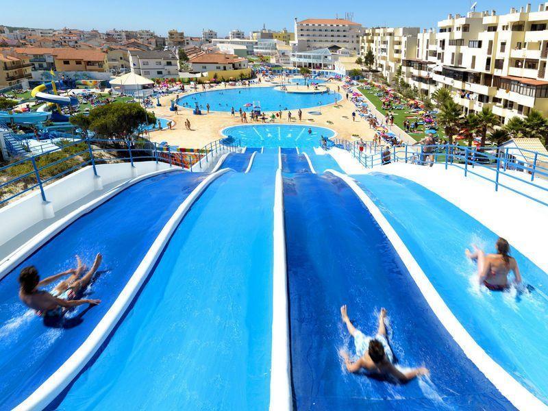 hotel con parque acuatico