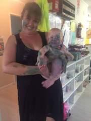 True Playcentre child!