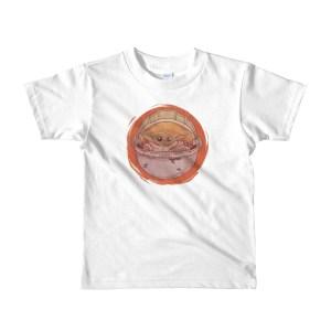 baby yoda mandalorian Kids shirt