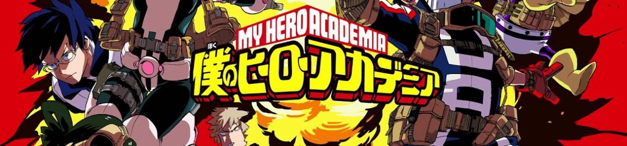 Manga Boku no Hero Academia