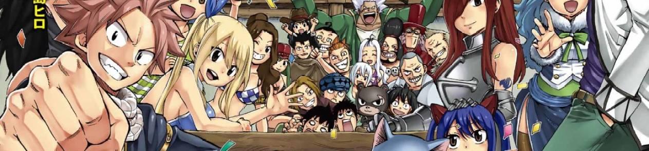 Manga Fairy Tail: 100 Years Quest