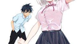 Komik Nega-kun and Posi-chan