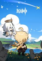 Komik Genshin Impact 4-koma