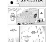 Komik A Story about a Cat Reincarnated in a Different World Where There are no Cats