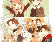 Komik Spy x Family – Anya and Damian (Doujinshi)