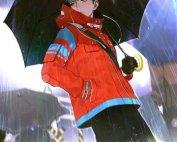 Komik Knight In Rain