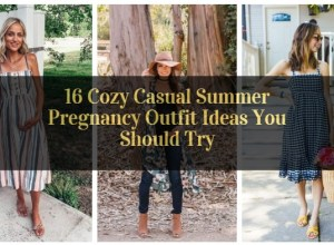 Cozy Casual Summer Pregnancy Outfit Ideas You Should Try_featured