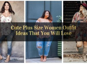 Cute Plus Size Women Outfit Ideas That You will Love_featured