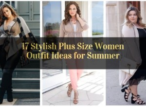 Stylish Plus Size Women Outfit Ideas for Summer_featured