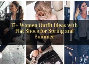 Women Outfit Ideas with Flat Shoes for Spring and Summer_featured