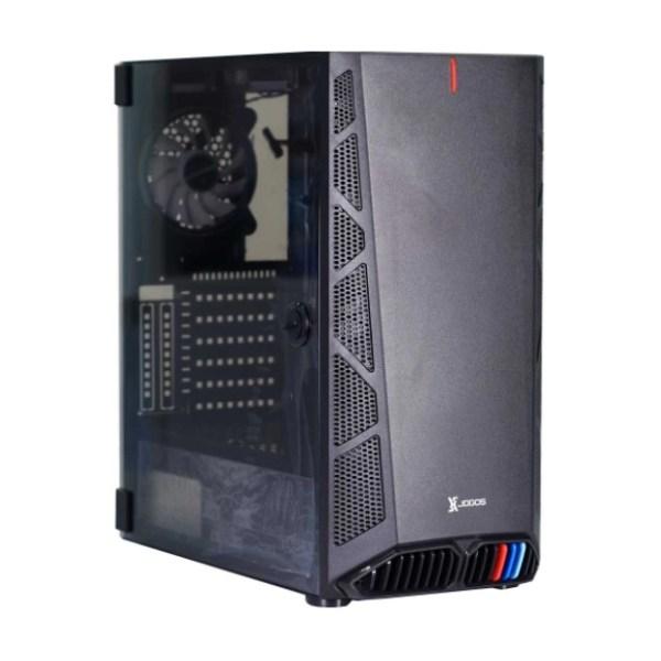 Xtreme XJOGOS 200-3 Mid Tower Black ATX Gaming Desktop Casing
