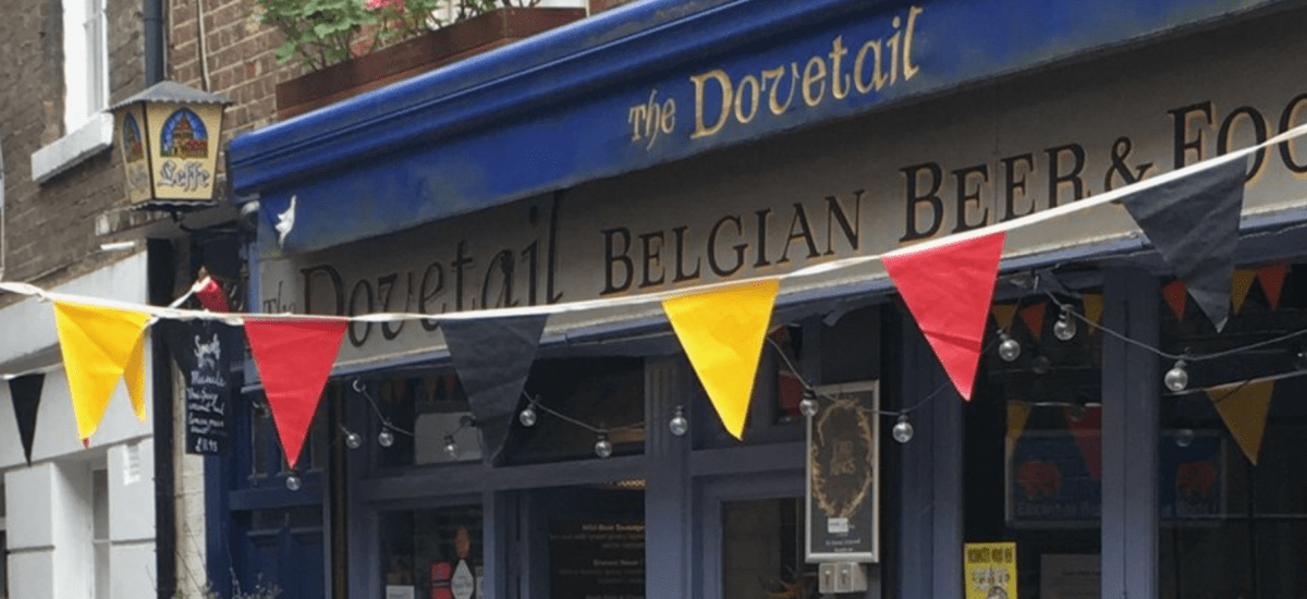 Hidden Gems: The Dovetail - A Belgian Beer Cafe in London