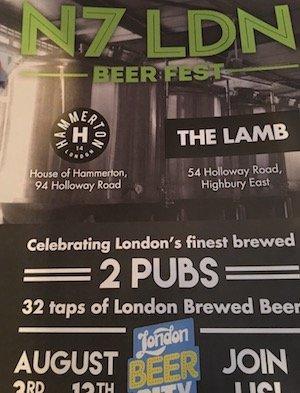 N7 LDN Beer Fest