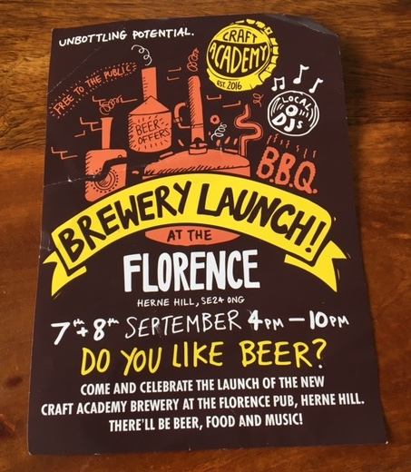 Brewery Launch at the Florence
