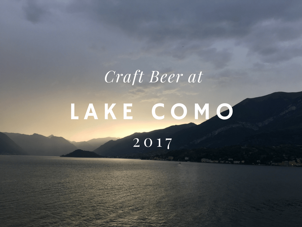 Craft Beer at Casa Aqua Dulza, Lake Como, Italy