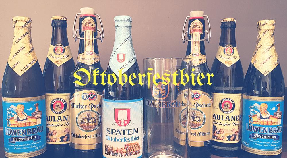 Drinking Oktoberfestbier