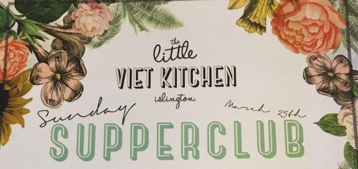 little viet kitchen supper club