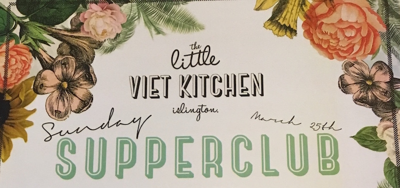 little viet kitchen supper club