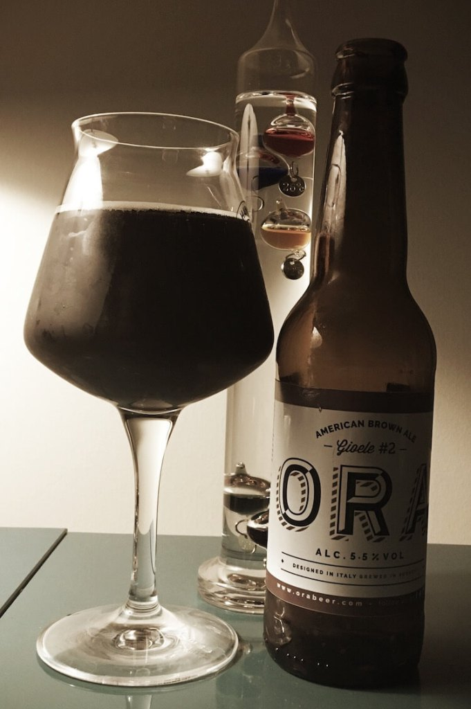 Gioele American Brown Ale - Ora Brewing