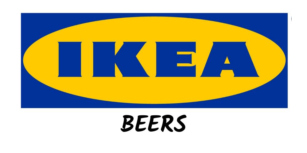 Ikea Lager Beers