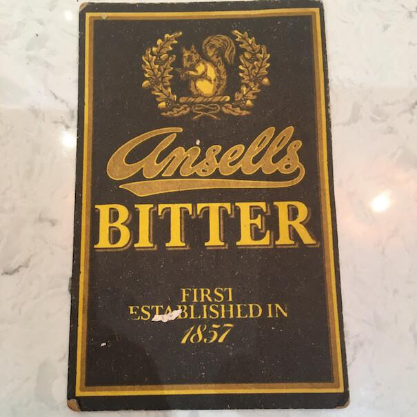 Ansells Bitter Beermat