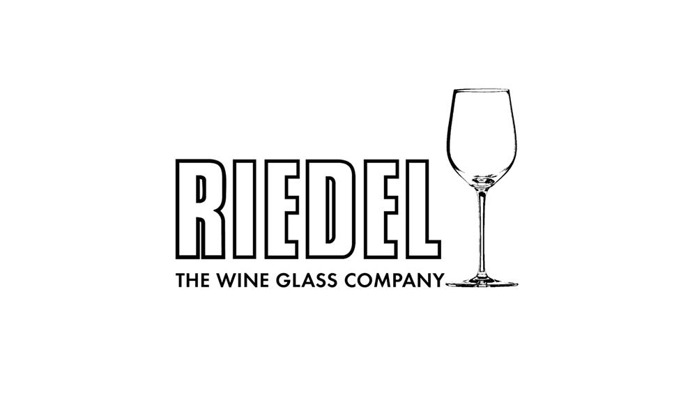 reidel wine glass logo