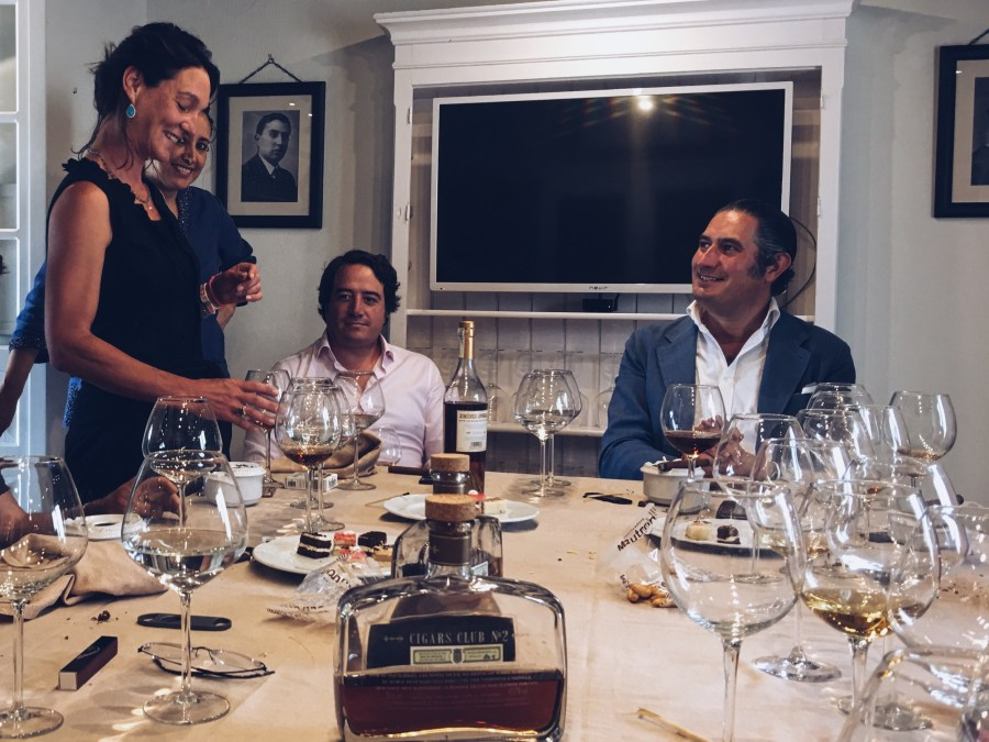 Bacchus Travel Business to Business Sherry Wine Lunch