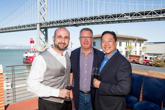 Rob Rupe (Managing Director, Bacchus Capital), Michael Meluskey (Chief Financial Officer, Qupé) and Quinton Jay (Managing Director, Bacchus Capital)