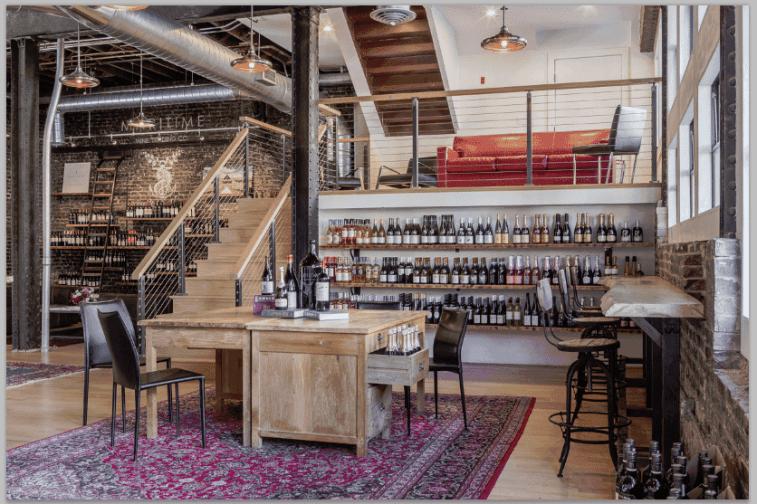 maritime wine tasting studio