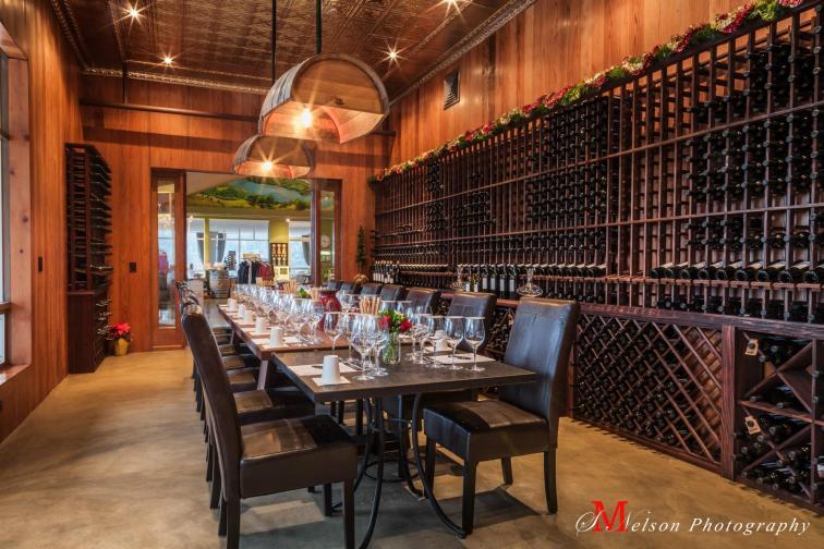 Sbragia sala de vino