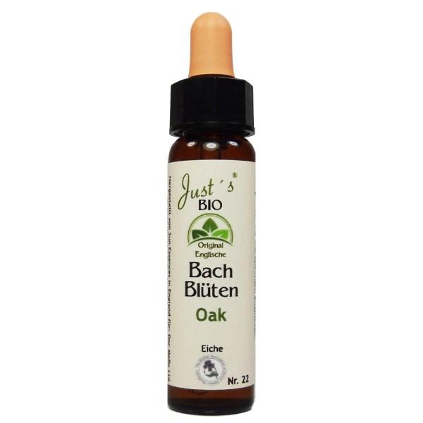 Oak/ Eiche Nr. 22 Bio Bachblüten Tropfen original englische Qualität